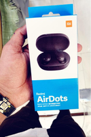 Used Wireless airdots earphones black  in Dubai, UAE