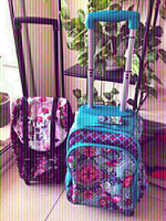 Used Catalina Estrada & Disney Trolly Bags  in Dubai, UAE