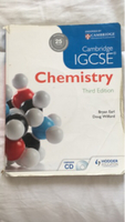 Used Chemistry textbook igcse third edition  in Dubai, UAE