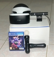 Used PS4 VR WITH CAMERA, Movers, and Game in Dubai, UAE