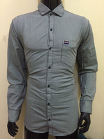 Used White/Black Micro checks shirt size XL in Dubai, UAE
