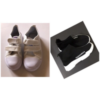 Used Shoes 👟 for kids size 34(new) 2pcs  in Dubai, UAE