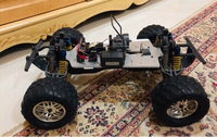 Used Nitro Engine RC Car Chassis (Monster) in Dubai, UAE