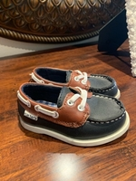 Used Carters navy baby boy shoes in Dubai, UAE
