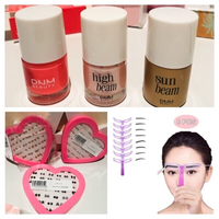 Used 3 boxes studs & eyebrow stencil & 3 DNM. in Dubai, UAE