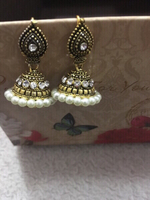Used Jhumka and bangle bundle  in Dubai, UAE
