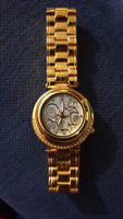 Used marreo valentino 18k gold-plated watch in Dubai, UAE