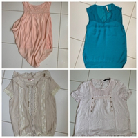 Used Bundle 4 blouses  in Dubai, UAE
