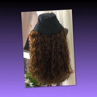 Used LONG CURLY WIG WITH BUCKET HAT in Dubai, UAE