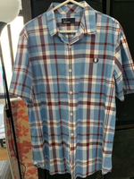 Used Fred Perry Checkered Polo in Dubai, UAE