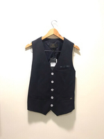 NEW Scotch & Soda Vest Size S Dark Blue