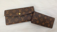 Used New lv wallet 2 pcs set with box  in Dubai, UAE