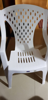 Used PLASTIC CHAIRS (6) EXCELLENT CONDITION in Dubai, UAE