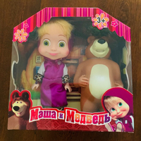 Used Masha & The Bear (purple dress) in Dubai, UAE