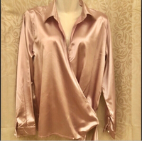 Used Ladies wrap blouse size XL/UK 12 in Dubai, UAE