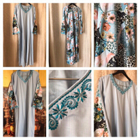Used Nice embroidered Long dress size S  in Dubai, UAE