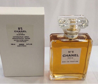 Used Chanel N5 EDP 100 ml, tester in Dubai, UAE