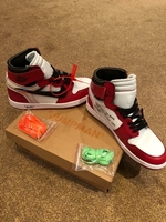 Used Jordan 1 Retro High OffWhite Chicago  in Dubai, UAE