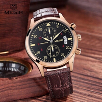 Used men watch with chronograph  in Dubai, UAE