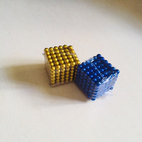 Used Bundle 4 magnetic balls gold and blue in Dubai, UAE