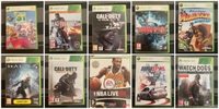 Used XBOX AND NINTENDO WII GAMES  in Dubai, UAE