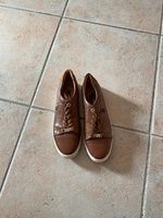 Used US Polo, brown sneakers  in Dubai, UAE