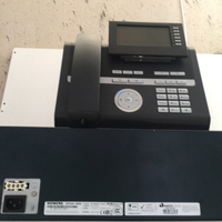 Used Siemens pabx phone system with telephone in Dubai, UAE