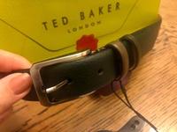 Used Ted Baker belt leather new  in Dubai, UAE