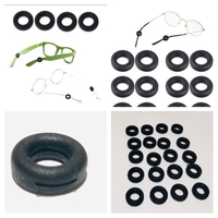 Used Anti slip silicon ring for glasses 20pcs in Dubai, UAE