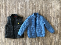 Used Jacket and vest for a boy 5/6 years old  in Dubai, UAE