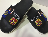 Used Messi men's slippers size 42 new in Dubai, UAE
