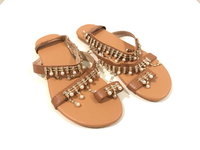 Used NEW Ladies Sandal Size 37/38  in Dubai, UAE