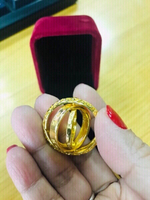 Used Universal and Love ring Gold ❤️ in Dubai, UAE