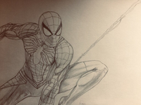 Used A drawing of spider-man in Dubai, UAE