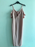 Used New look Nude Pink Cold-Shoulder Maxi in Dubai, UAE
