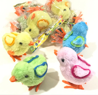 Used NEW Wind-up Jumping Chicken Toys 12pcs in Dubai, UAE