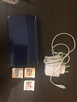 Used Nintendo 3DS XL BLUE, games, and charger in Dubai, UAE