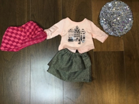 Used Winter outfit-American girl doll in Dubai, UAE
