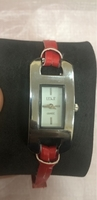Used women fashion red watch. in Dubai, UAE