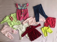 Used Bundle for Baby Girl  in Dubai, UAE