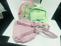 Ladies school bags with4 different color