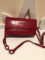 Used Red Mini handbag with strap  in Dubai, UAE