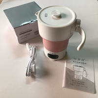 Used Foldable electric kettle pink (new) in Dubai, UAE