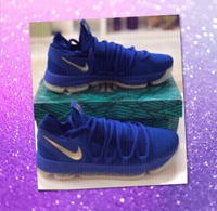 Used Kevin Durant Blue Shoes/46 size in Dubai, UAE