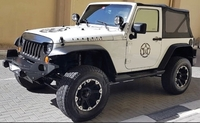 Used Jeep Wrangler 2007 model for sale in Dubai, UAE