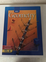 Used GEOMETRY Text Book  HOLT in Dubai, UAE