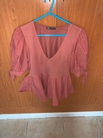 Used Zara pink top in Dubai, UAE