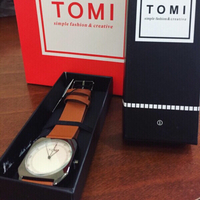 Used Tomi leather watch  in Dubai, UAE