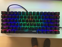 Used Mechanical Keyboard TKL Black Switch in Dubai, UAE