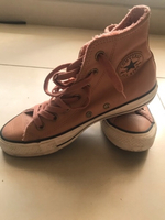 Used Converse All Star Leather Pink Ankle in Dubai, UAE